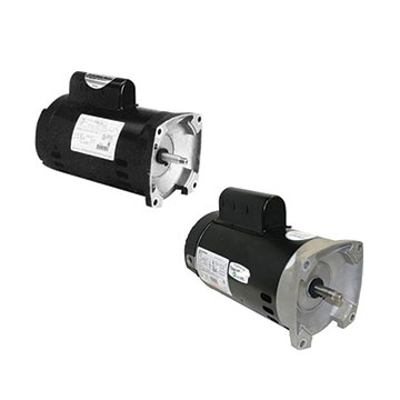 Square Flange Motors
